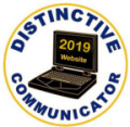 2019 Distinctive Communicator Award for Website